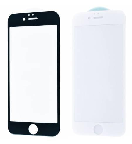 Защитное стекло 3D Black/White Premium