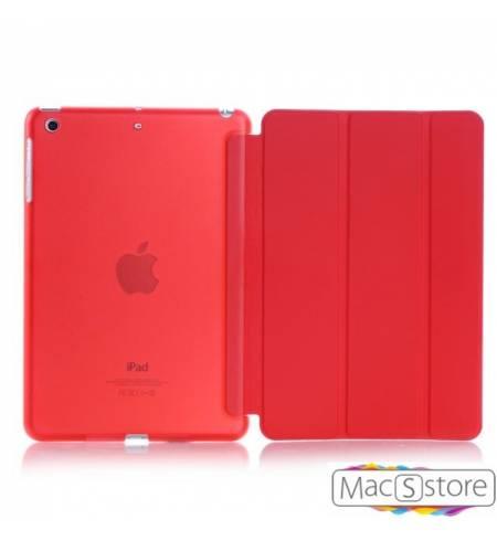 Чехол книжка красный smart case Apple logo для iPad mini4