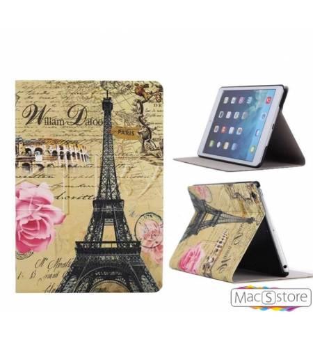 Чехол эко-кожа книжка Эйфелевая башня для iPad mini4