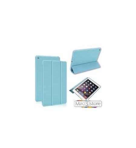 Чехол книжка голубой smart case Apple logo для iPad mini4