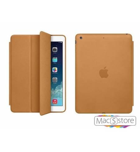 Чехол книжка коричневый smart case Apple logo для iPad mini4