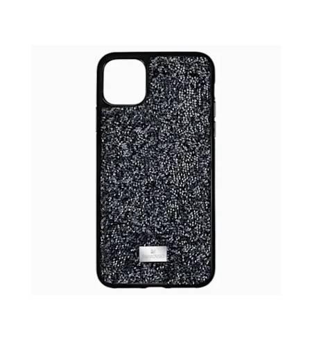 Glam Rock чехол Swarovski для iPhone 12/12 Pro, Черный кристал