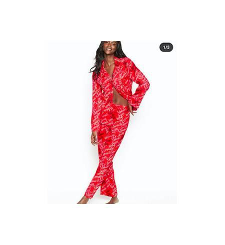Пижама The Flannel PJ Red VS Scroll (G3M) M R