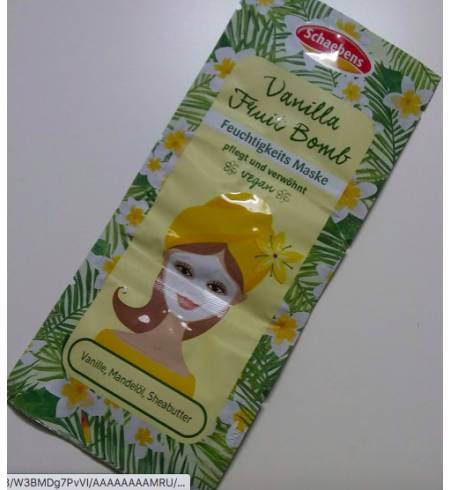 Маска для лица Schaebens Vanilla Fruit Bomb