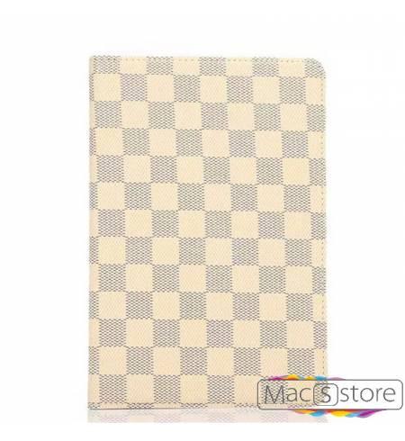 Чехол Книжка LV Шахматы Белый iPad MINI