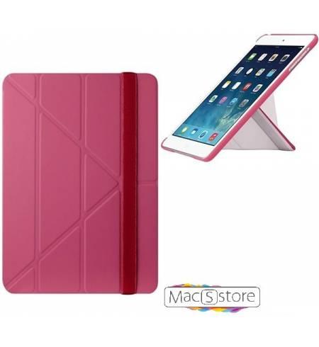 Чехол книжка розовый Slim-Y O!coat OZAKI для iPad Air