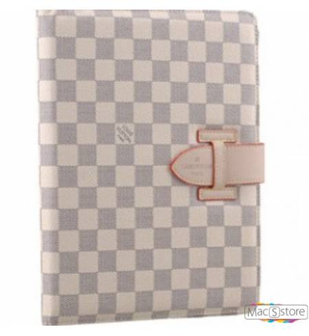 Чехол Книжка LV Шахматы Белый iPad AIR1
