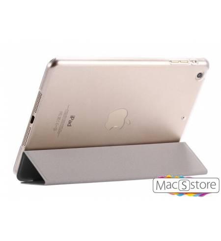 Чехол эко-кожа пластик черный шелк smart case для iPad mini4