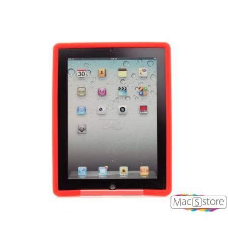 Чехол Силикон Demix+ Screen Protect Красный iPad 2/3/4