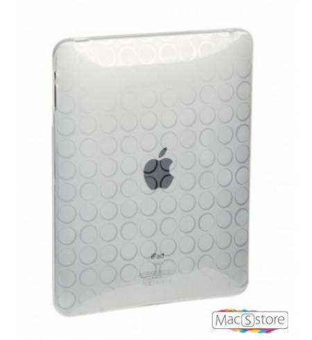 Чехол Силикон Dexim+ Screen Protect Прозрачный Кружки iPad 2/3/4
