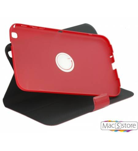 Чехол книжка красный 360 на магните для iPad Air
