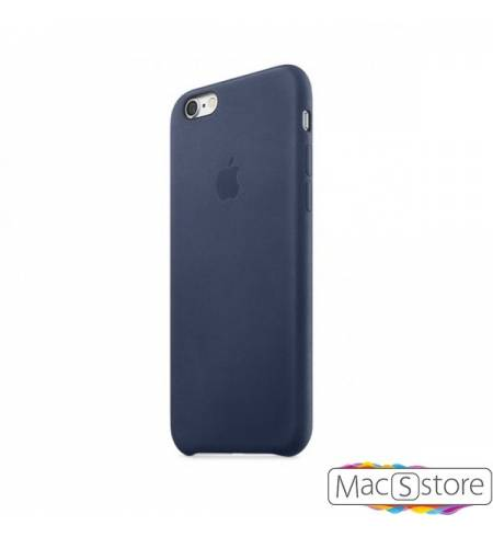 Оригинальный чехол Leather Case Apple Midnight Blue (MMY32ZM/A) для iPhone7 (темно-синий)