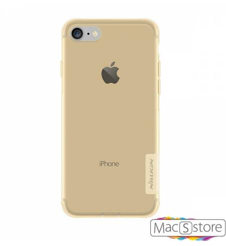 Чехол TPU золотой Nillkin Nature для iPhone7
