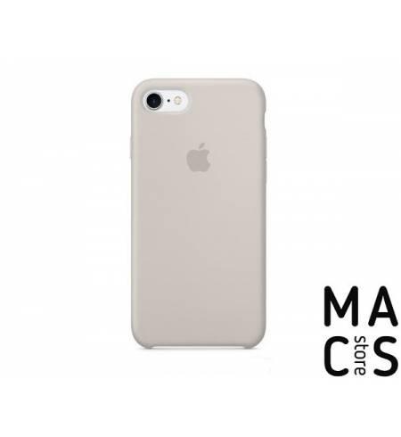 Чехол TPU серый Apple Logo для iPhone7